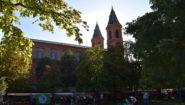 Slavnosti škol: S dětmi a pro děti v Portheimce